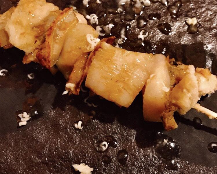 焼き鳥ポロ吉おすすめ【プリプリほたて柚子胡椒バター】